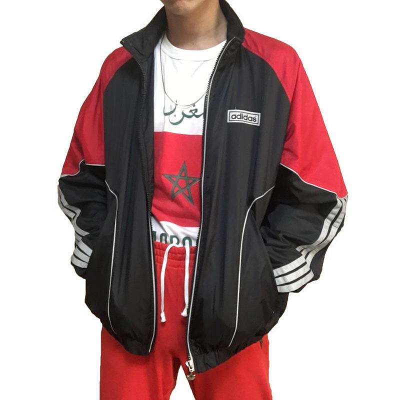 【USED】90'S ADIDAS REFLECTIVE NYLON JACKET