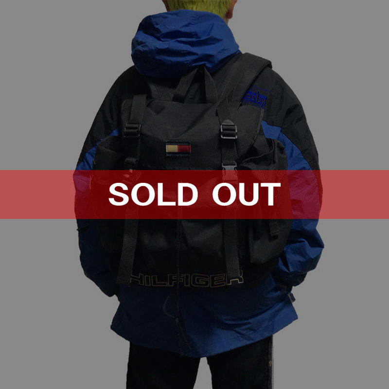 【USED】90'S TOMMY HILFIGER BACKPACK