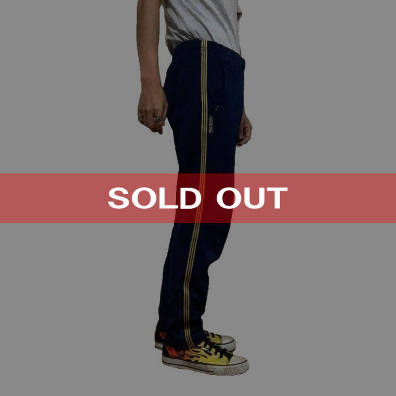 """【USED】80'S ADIDAS OLD TRACK PANTS """"TECHNO"""""""