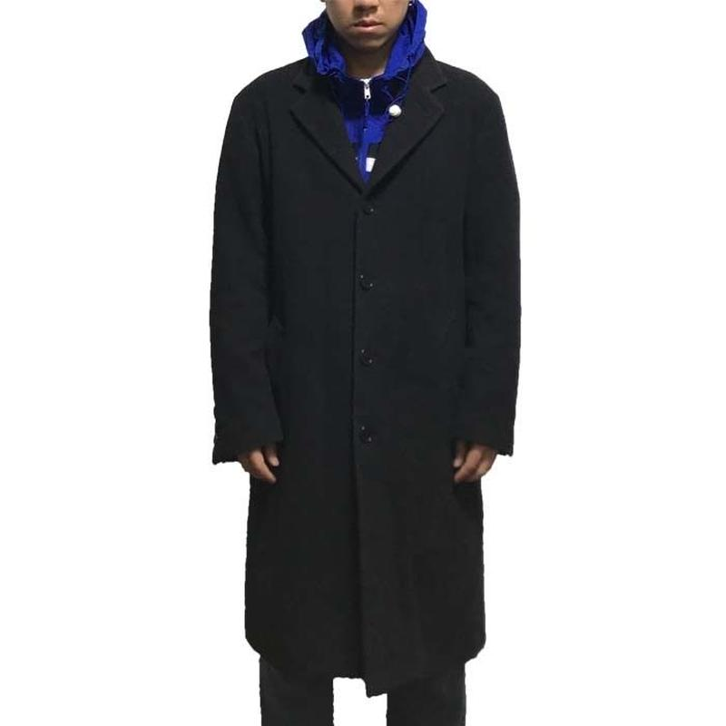 【USED】90'S DKNY WOOL CHESTERFIELD COAT