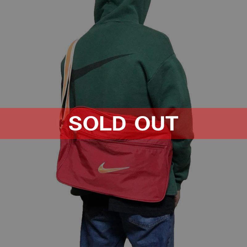 【USED】90'S-00'S NIKE SWOOSH LOGO SHOULDER BAG