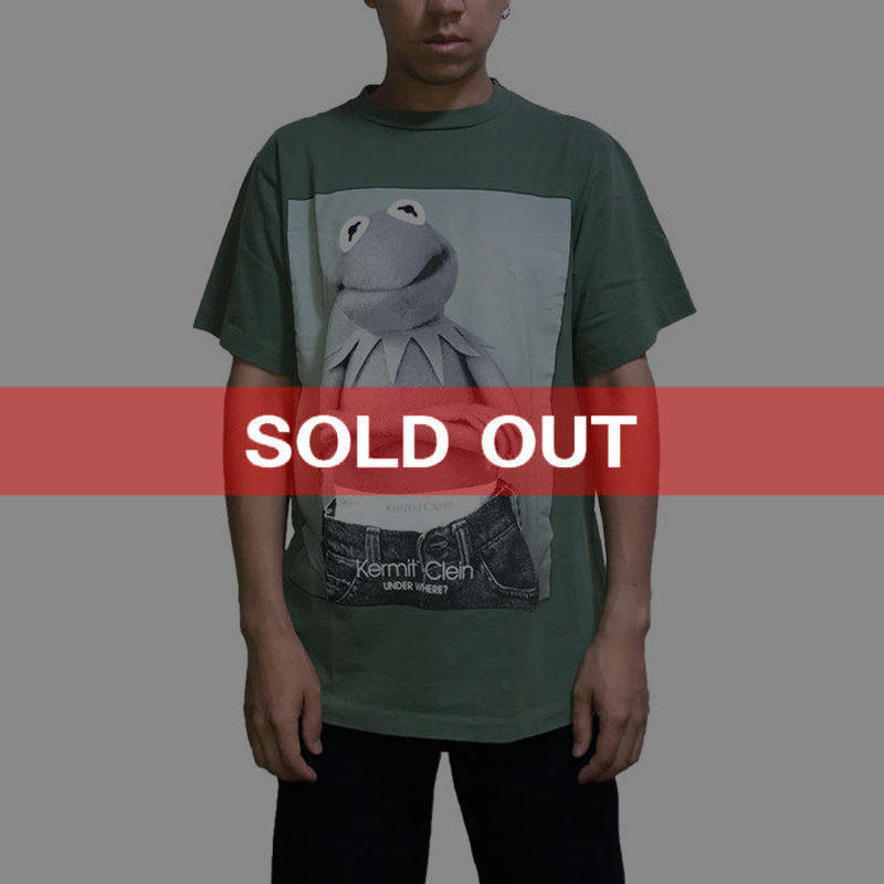 【USED】90'S KERMIT CLEIN T-SHIRT