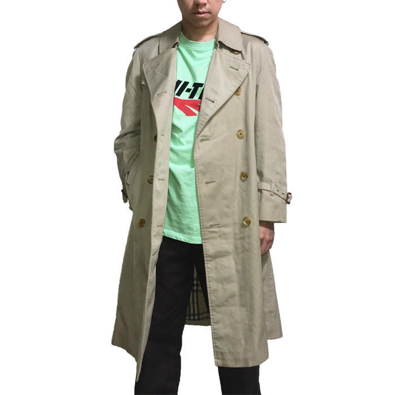【USED】90'S BURBERRYS TRENCH COAT MADE IN ENGLAND