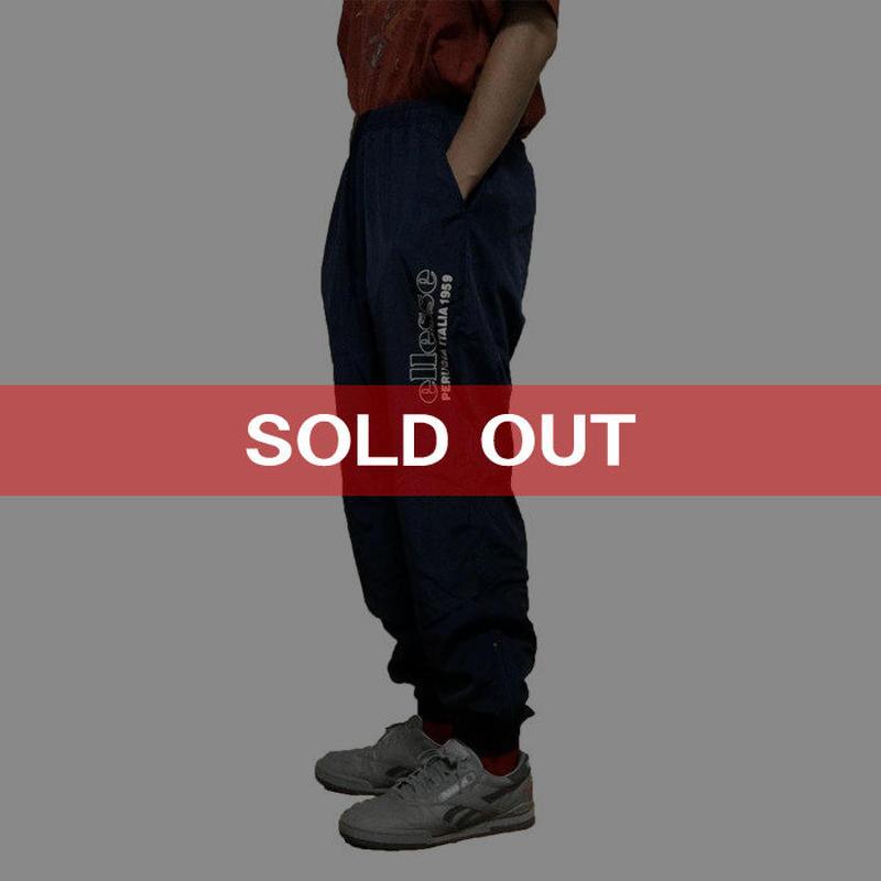 【USED】90S ELLESSE NYLON PANTS