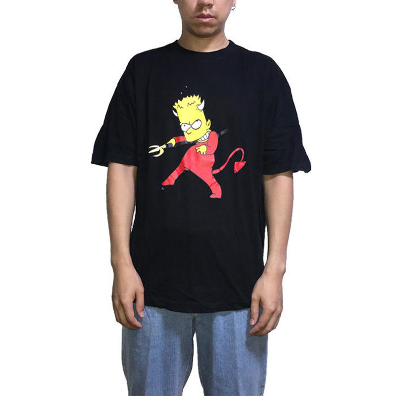 "【USED】THE SIMPSONS ""DEVIL BART"" T-SHIRT"