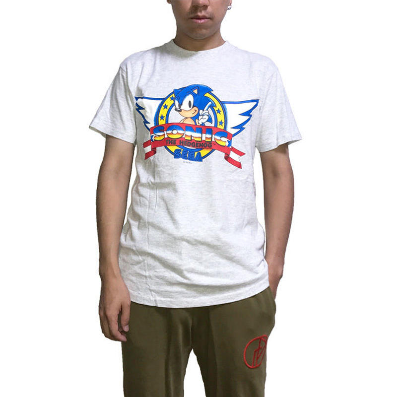 【USED】90'S SONIC THE HEDGEHOG T-SHIRT