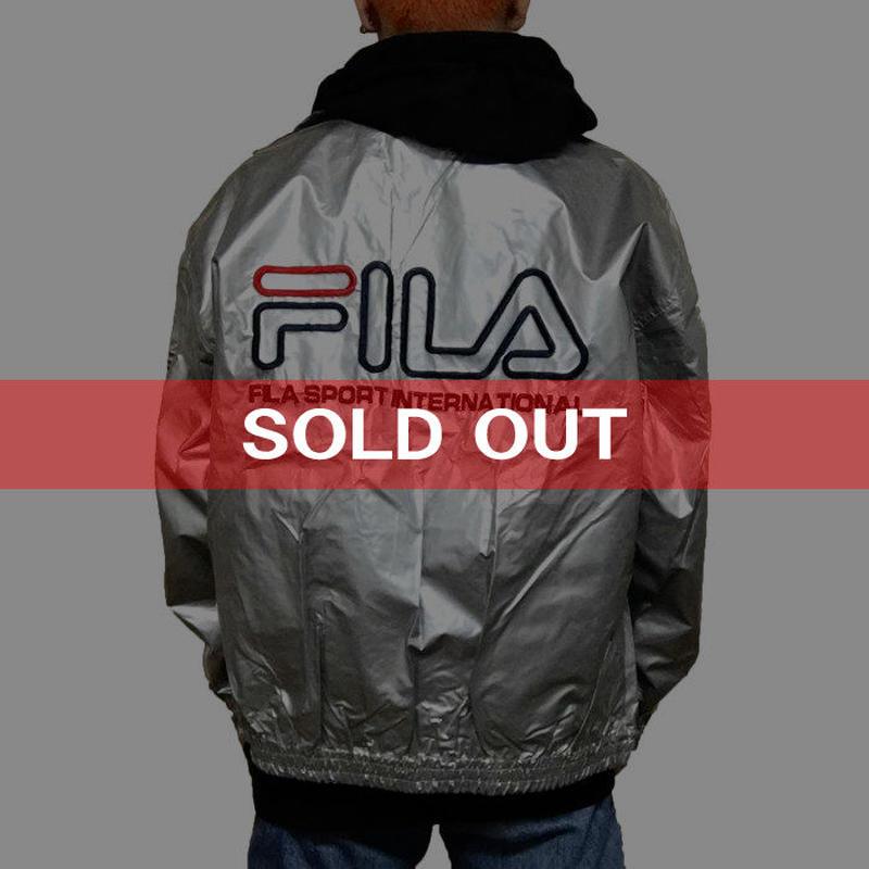 【USED】90'S FILA SIVER BLOUSON