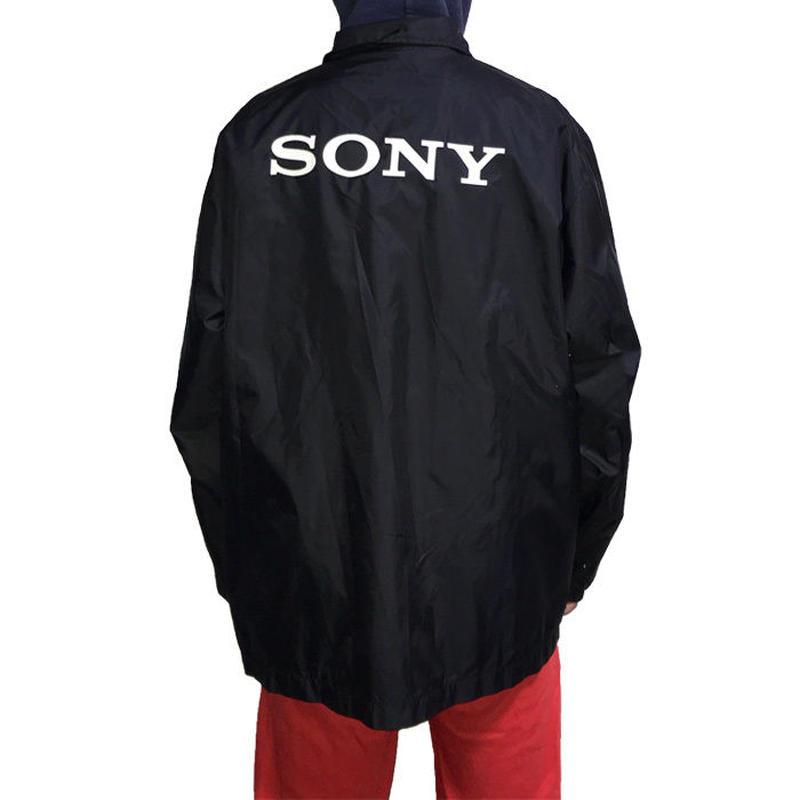 【USED】90'S SONY COACH JACKET