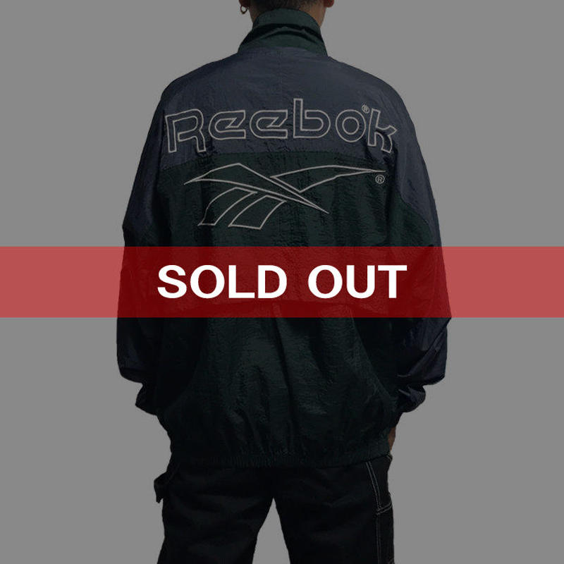 【USED】90'S REEBOK BICOLOR NYLON JACKET
