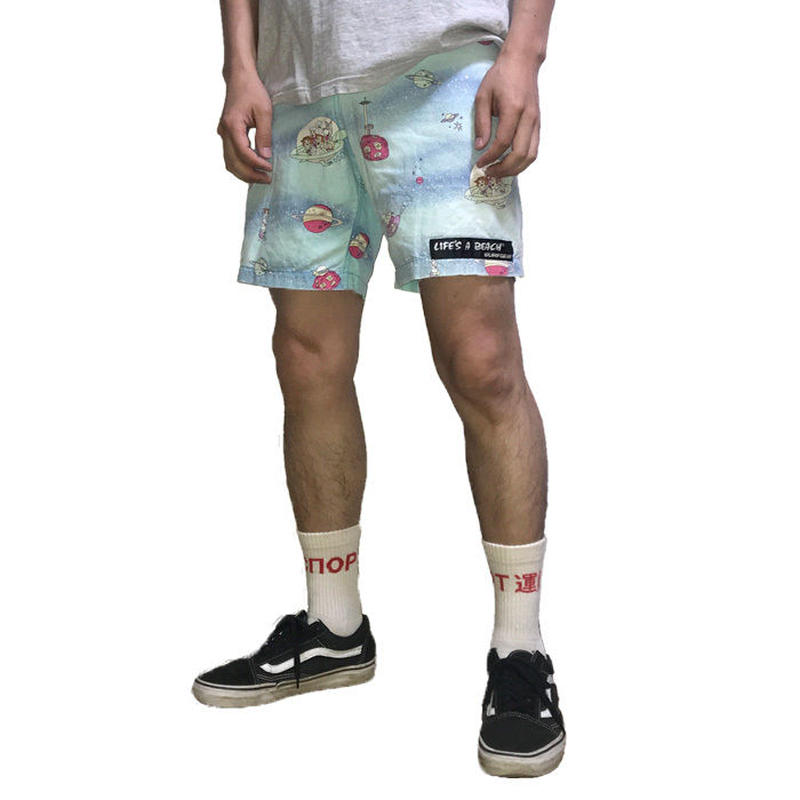 """【USED】80'S LIFE'S A BEACH """"THE JETSONS"""" SHORTS"""