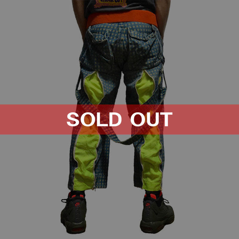 【USED】80'S WORLDS END HYPNOS BONDAGE TROUSERS