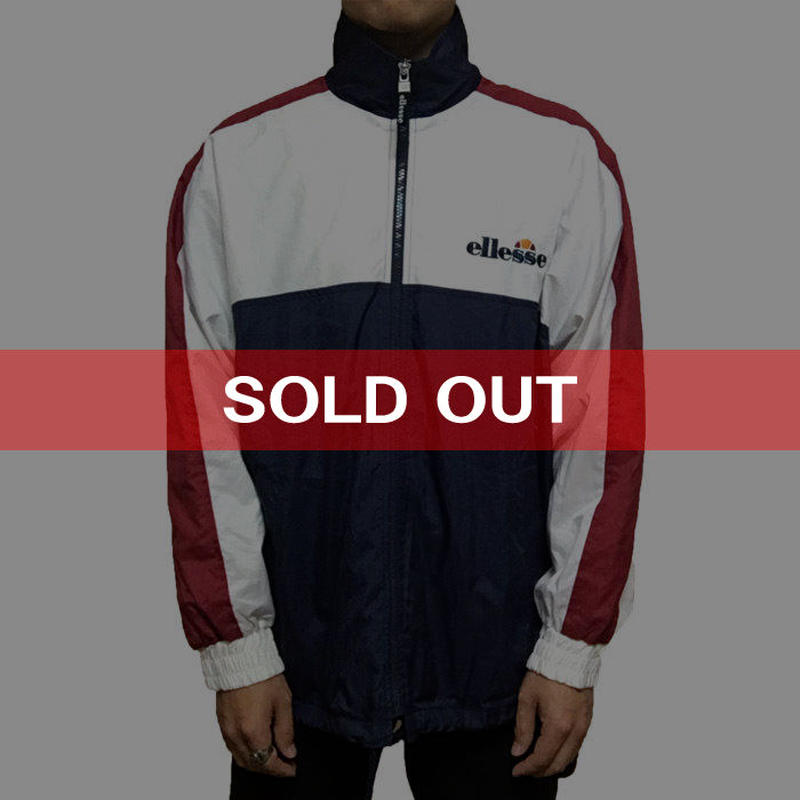 【USED】90'S ELLESSE NYLON JACKET