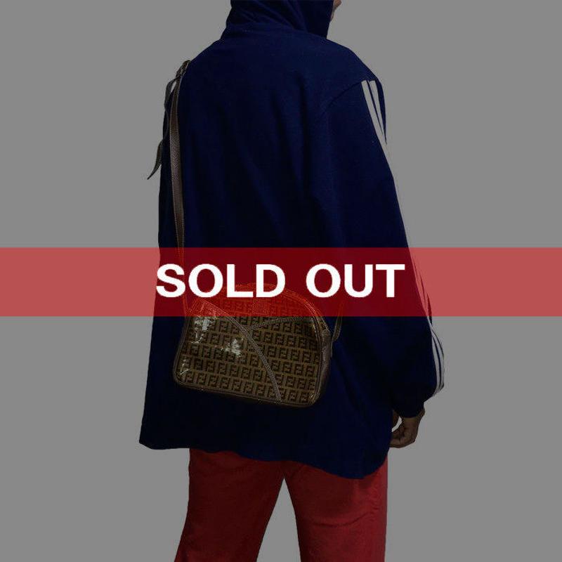 【USED】80'S FENDI ZUCCHINO PATTERN SHOULDER BAG