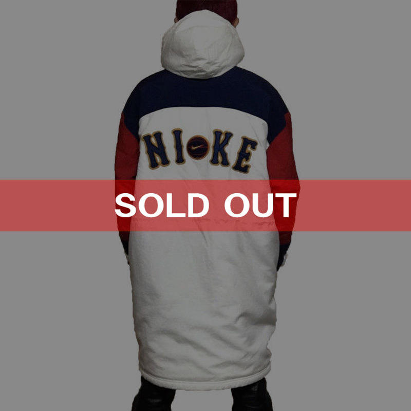 【USED】90'S NIKE SPORTS COAT TRICOLOR