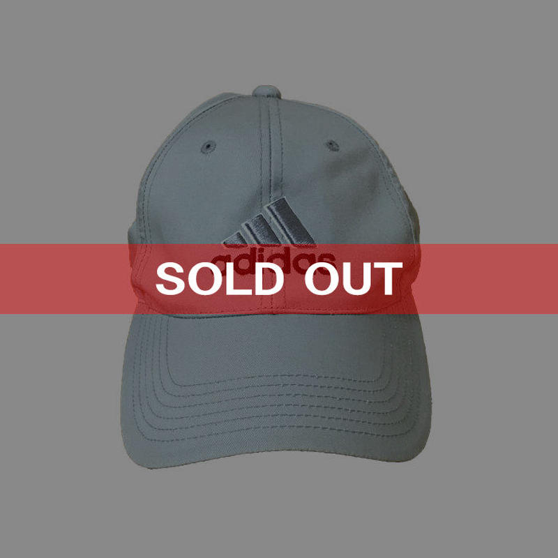 【USED】90'S ADIDAS 3-STRIPES LOGO CAP