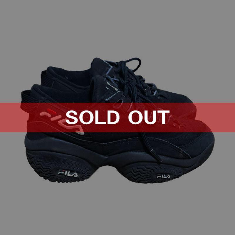 【USED】90'S FILA CATERPILLAR SOLE SNEAKERS US:7