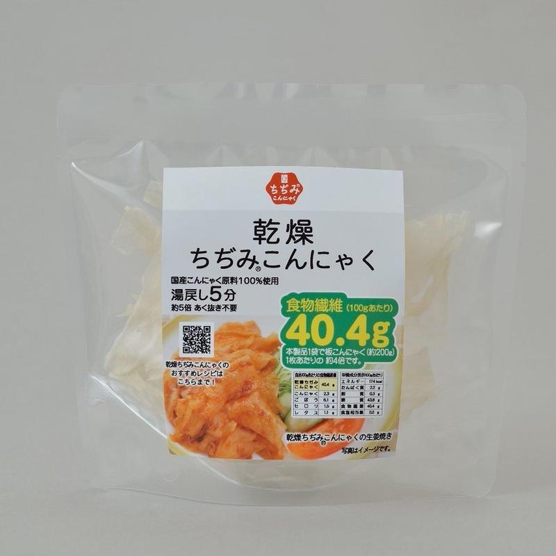 味しみ一番!たかあきの乾燥ちぢみ®こんにゃく           規格:15g入 1袋