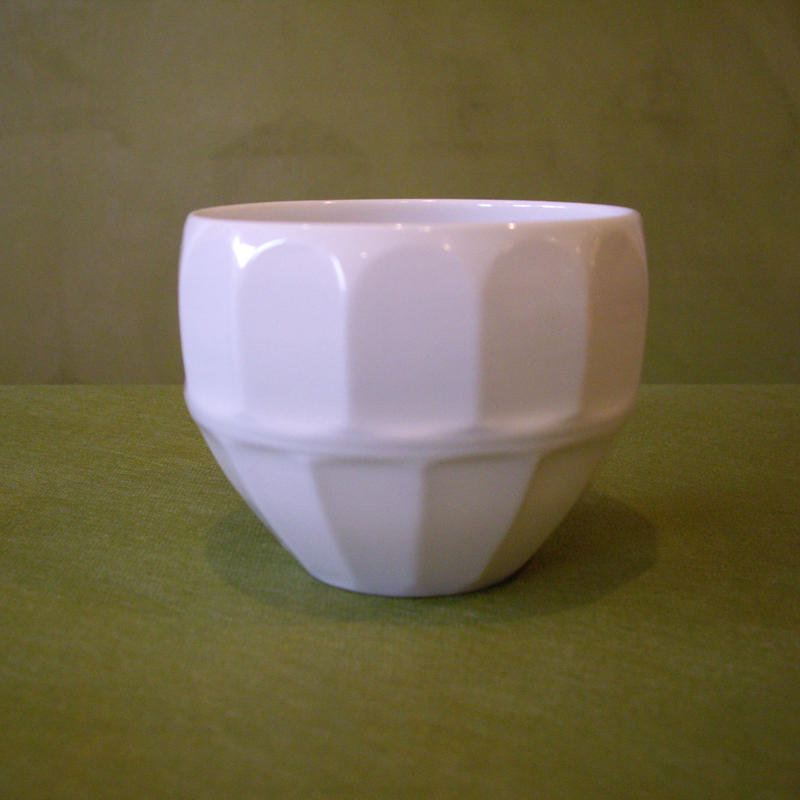 波佐見焼 一真窯     白磁「丸カップ」9種類
