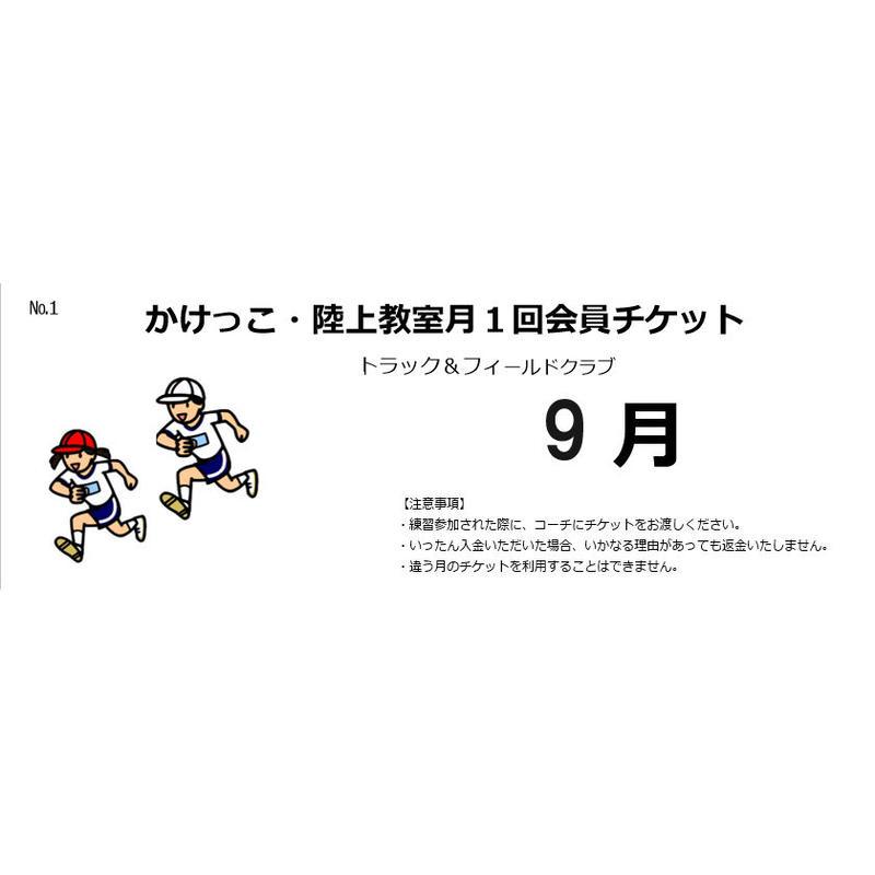 【川崎】月1回会員チケット(9月~11月)【発送予定日 毎月25日】