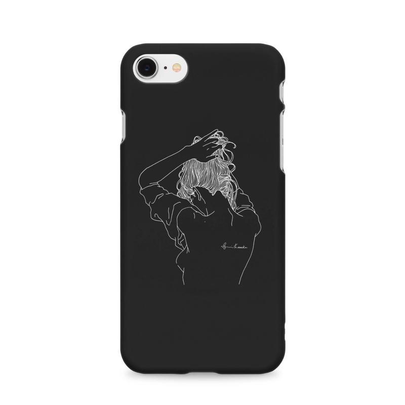 black iPhonecase