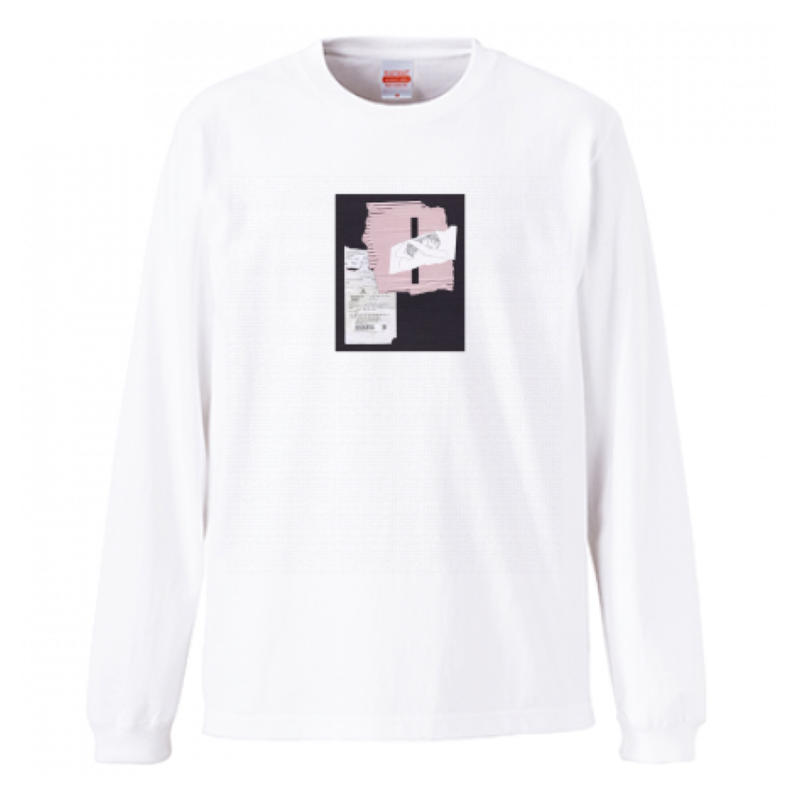 collage long T(pink)