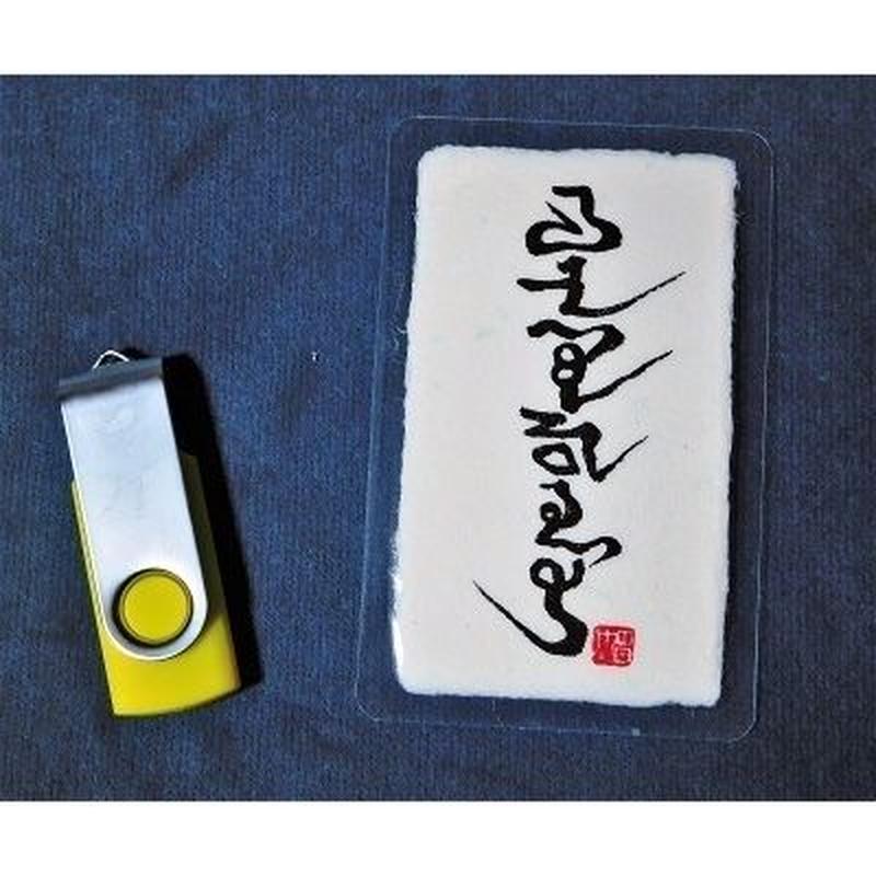 神代の姓名  (期間限定)(名刺サイズ:ラミネート加工済&USBデータ)