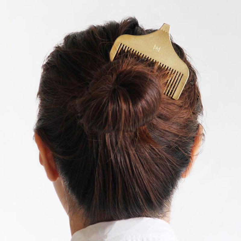 日本一きらめく富士山の化粧くし(Gold)