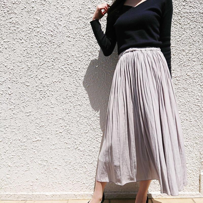 マキシ丈ロングスカート