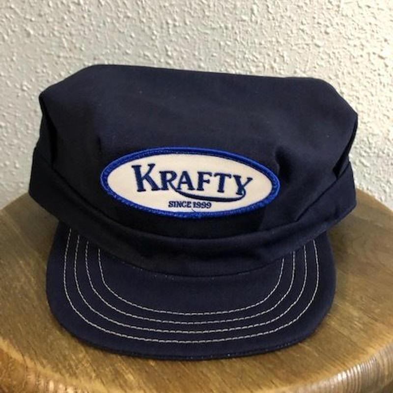 KRAFTY x SPEIERS BRAND DENIM WORKCAP BLUE
