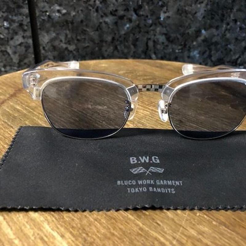 B.W.G GLORY BOX CLEAR/BLUE