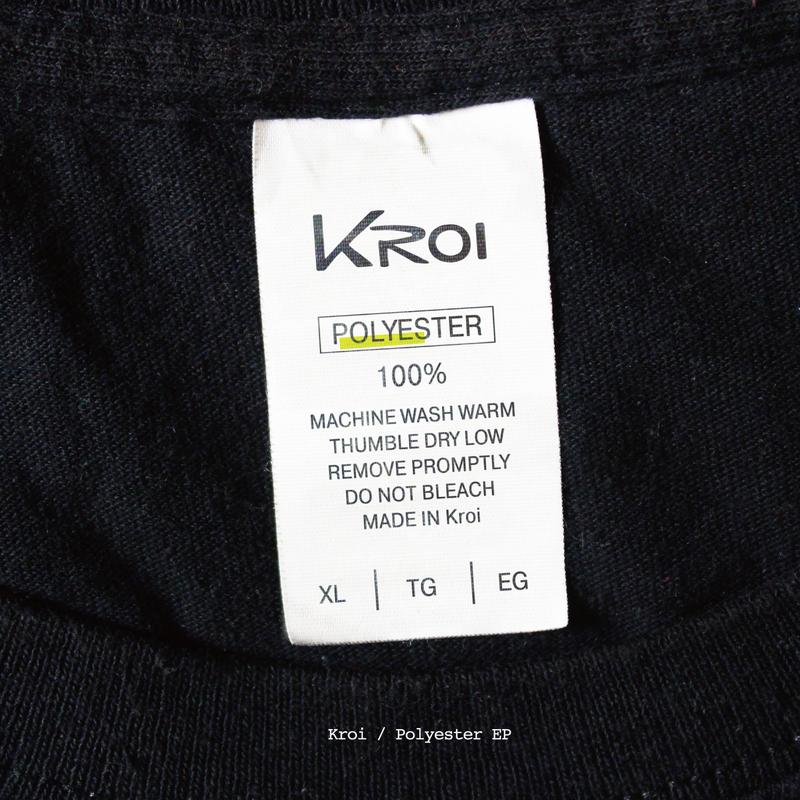 Kroi 1st EP 'Polyester'