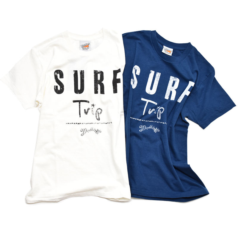 Marbles×K's surf ride ダブルネームTシャツ(ONLINE STOREオープン記念)