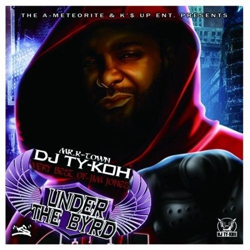 【再入荷】DJ TY-KOH - UNDER THE BYRD-VERY BEST OF JIM JONES-