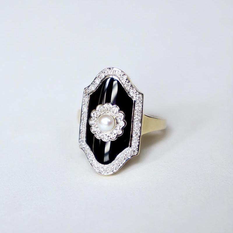 【LOIS】Olivia オニキス/ダイヤモンド