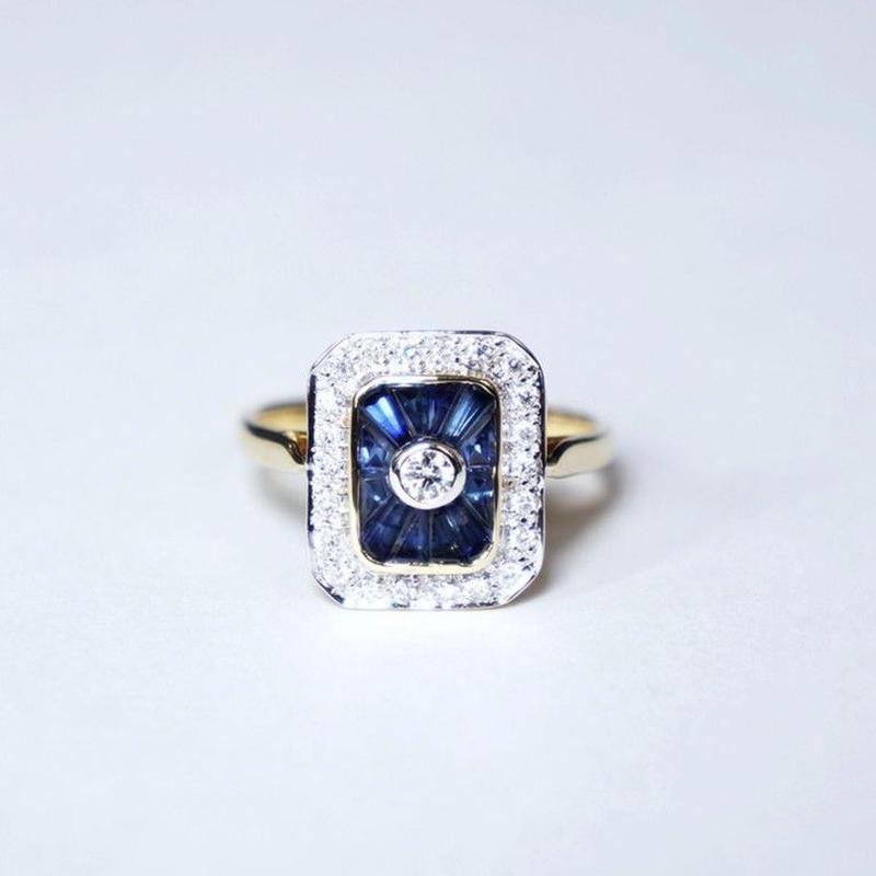 【LOIS】Katrina サファイア/ダイヤモンド