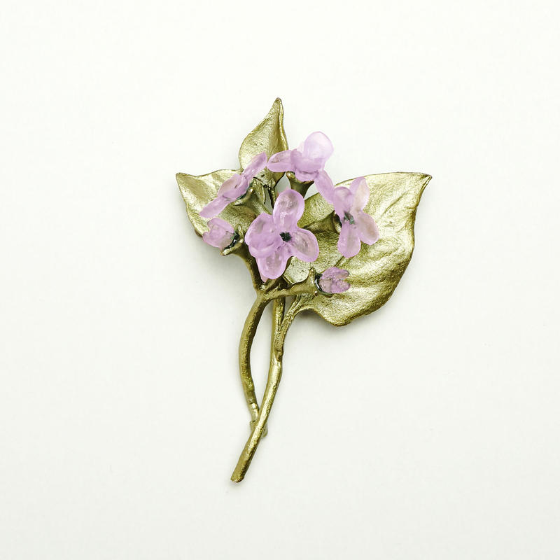 【MICHAEL MICHAUD】lilac ブローチ