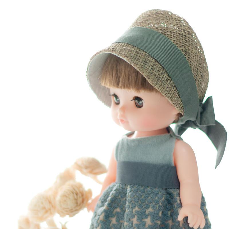 ドールサイズ 麦わら帽子
