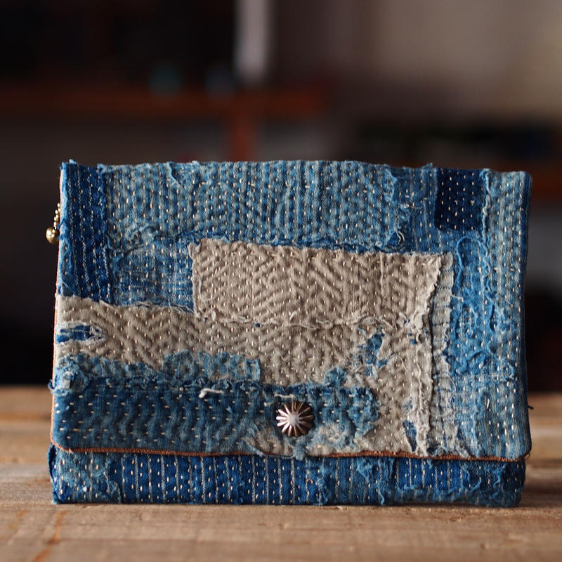 SASHIKO(BORO) PURSE(ALL JAPAN)