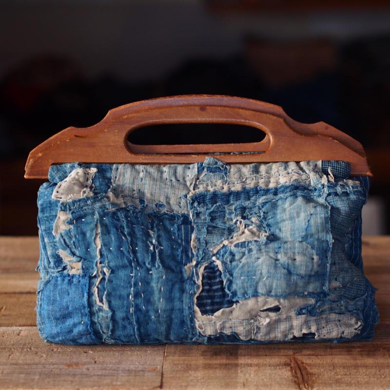 RANRU(襤褸) WOOD BAG(JAPAN×USA)