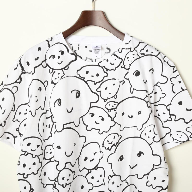 グリンピースくんTシャツ(白)