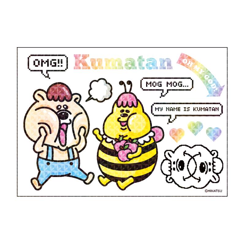 KUMATAN STICKER(ステッカー/シール)