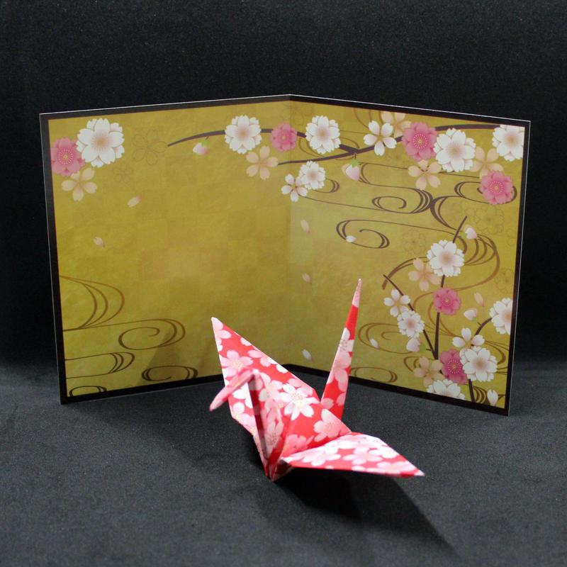 屏風 A 桜 10枚