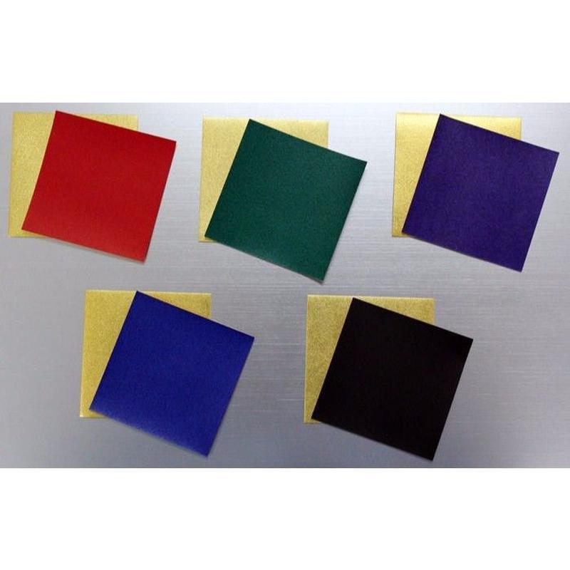 金箔和紙両面折紙 単色 15㎝ 10枚入
