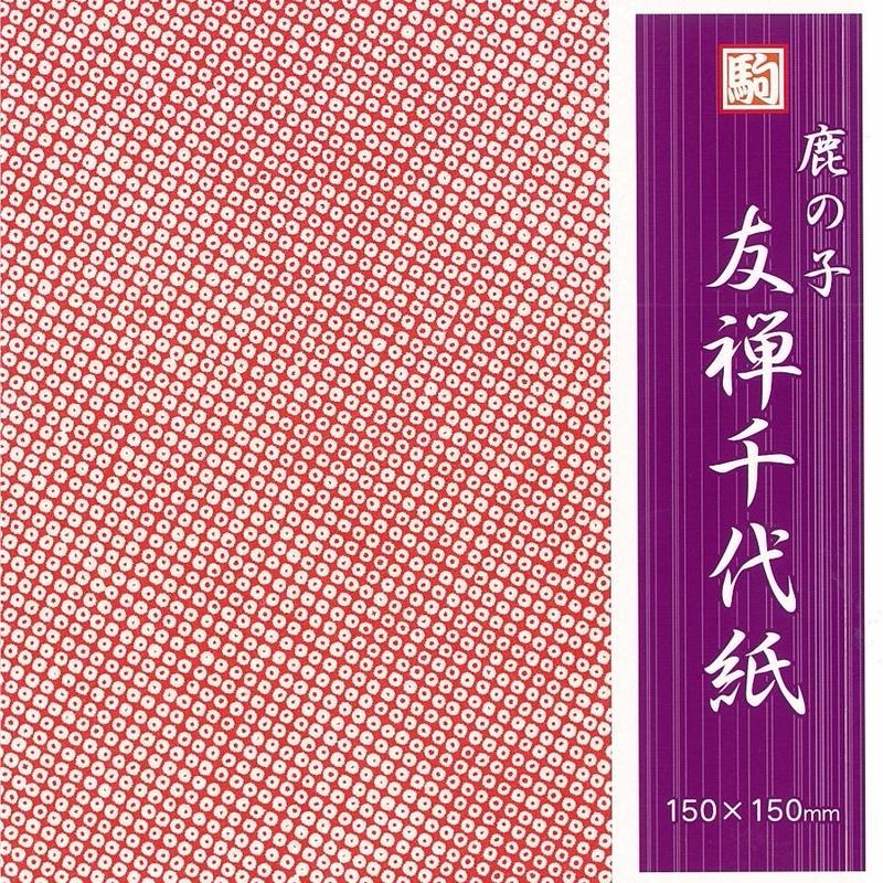 鹿の子友禅千代紙 K05019