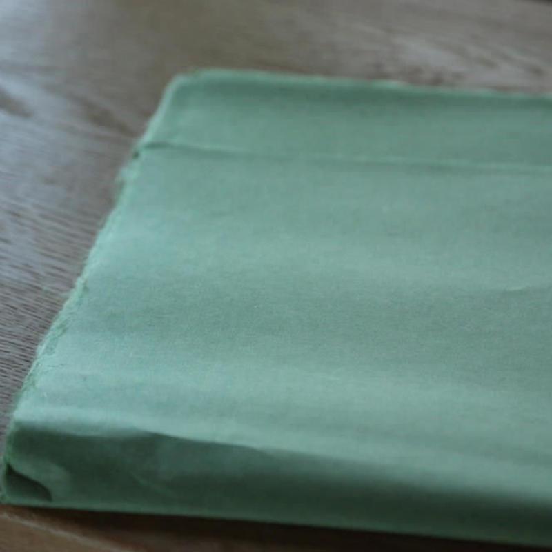 アウトレット品 楮紙 化学染め 緑色