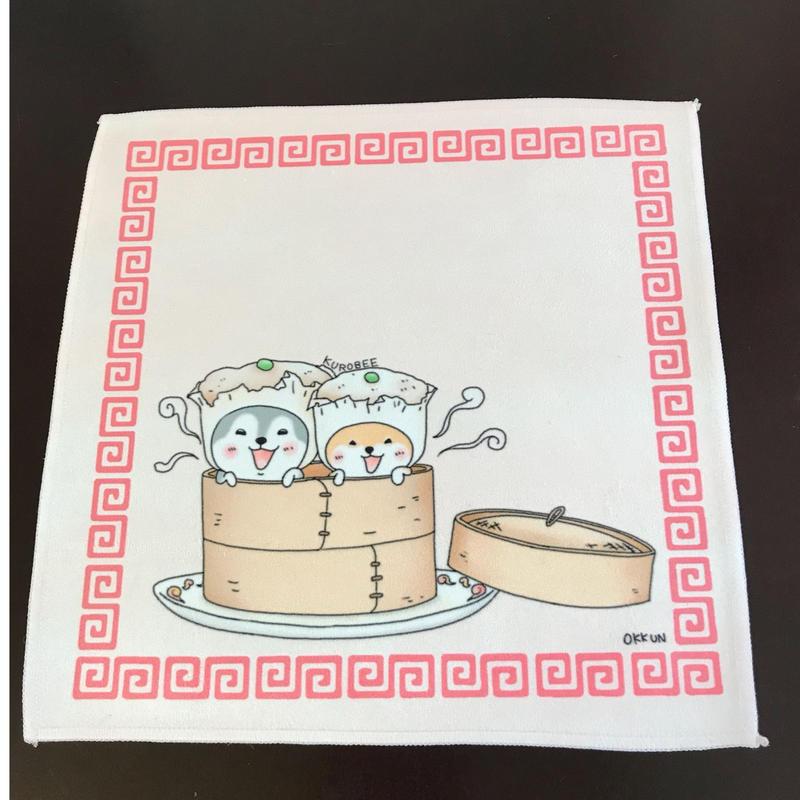 焼売クー千代ハンカチタオル