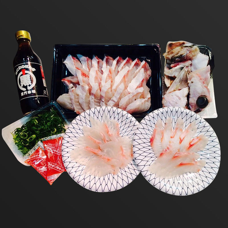 黒門市場 鮮魚川崎 くえづくしセット(2〜3人前)