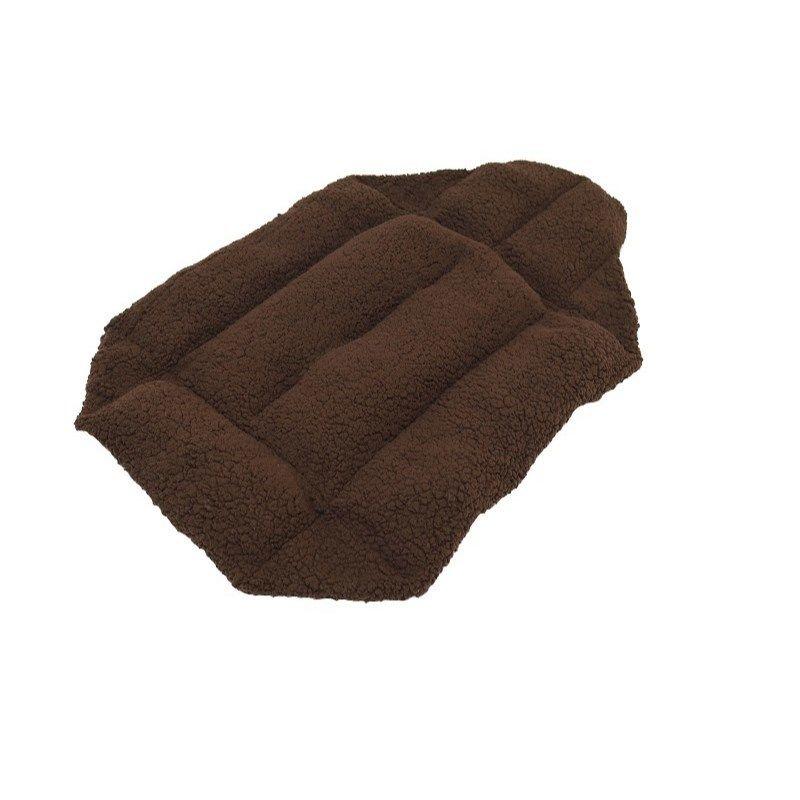 Cocoheart ペットカート用 (キャリーバッグにもOK)クッションベット・リバーシブル 安心の日本縫製 (ペットカート用, ブラウン×ブラウン)