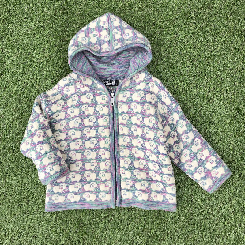 *JurianKinder*sheep zip knit