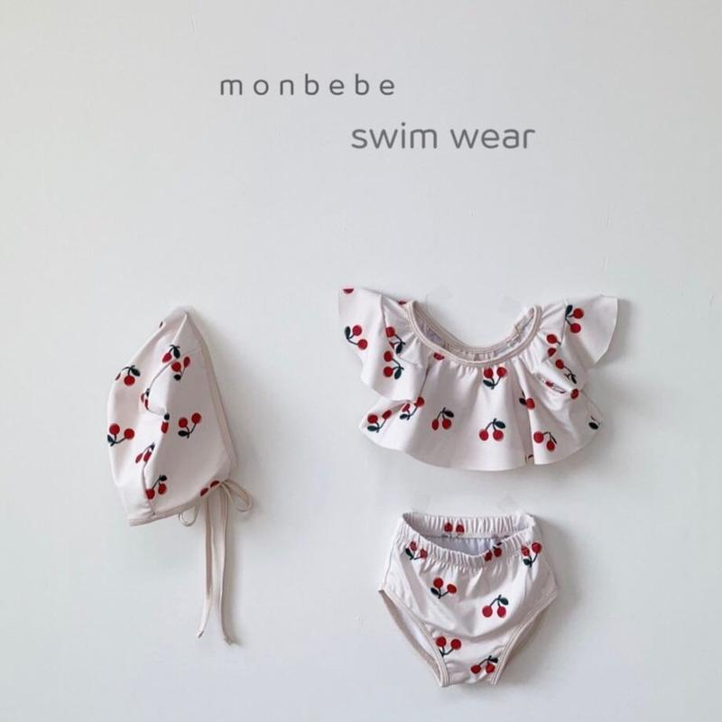 cherry swim wear set